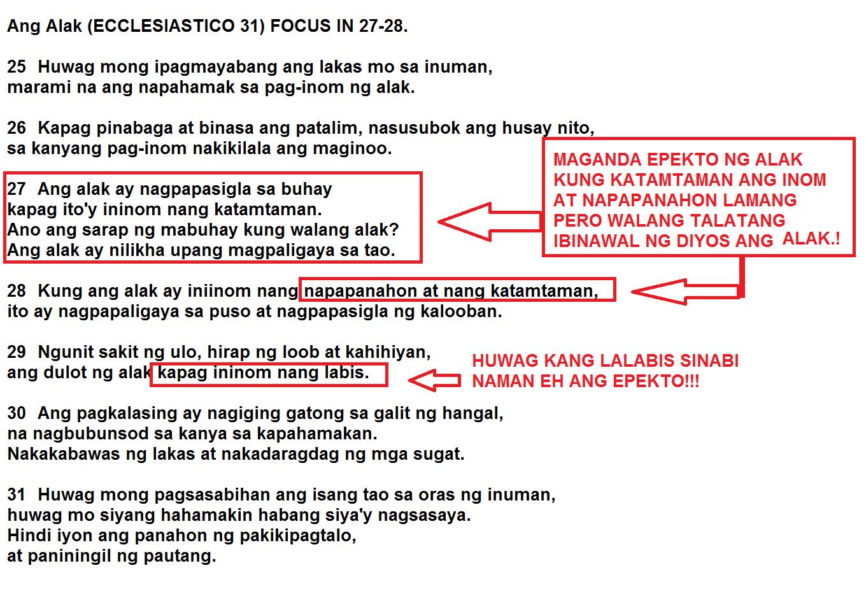Ang alak walang ibinawal na uminom ng alak sa biblia for Ng include ng template