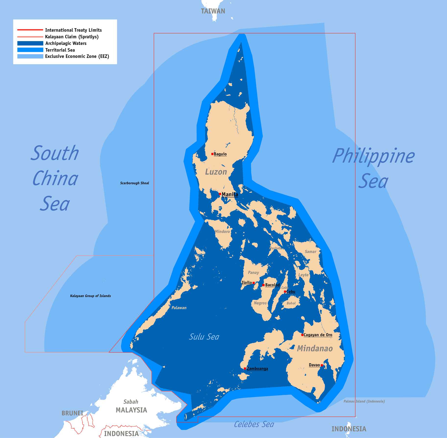 EXPLORATION OF OIL IN THE PHILIPPINES INCLUDING PANATAG SHOAL - Where is philippines