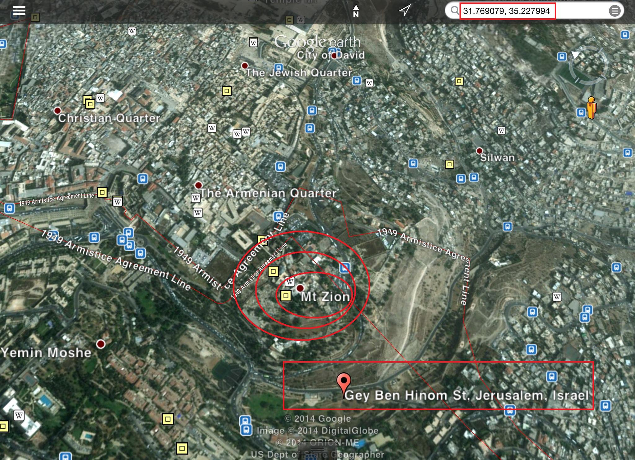 """THE """"VALLEY OF BACA"""" AND THE """"MOUNT ZION""""! BIBLICAL EXACT ..."""