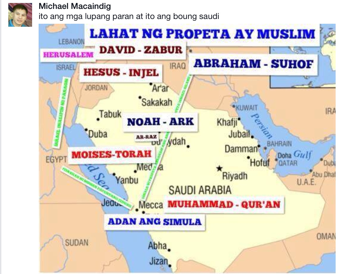 paran muslim Paran, which is east of isaac's land hagar's  paran is to the east of isaac  the  table=ummah—worldwide community of muslim believers.